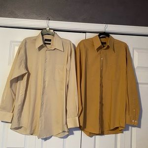 Pair of Claiborne dress shirts